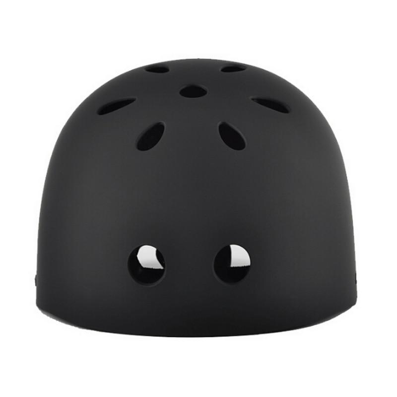 Outdoor Sports Climbing Rafting Cycling Helmets ABS Shell Black Bicycle Helmet Integrally-molded Bike Helmet For Men Women
