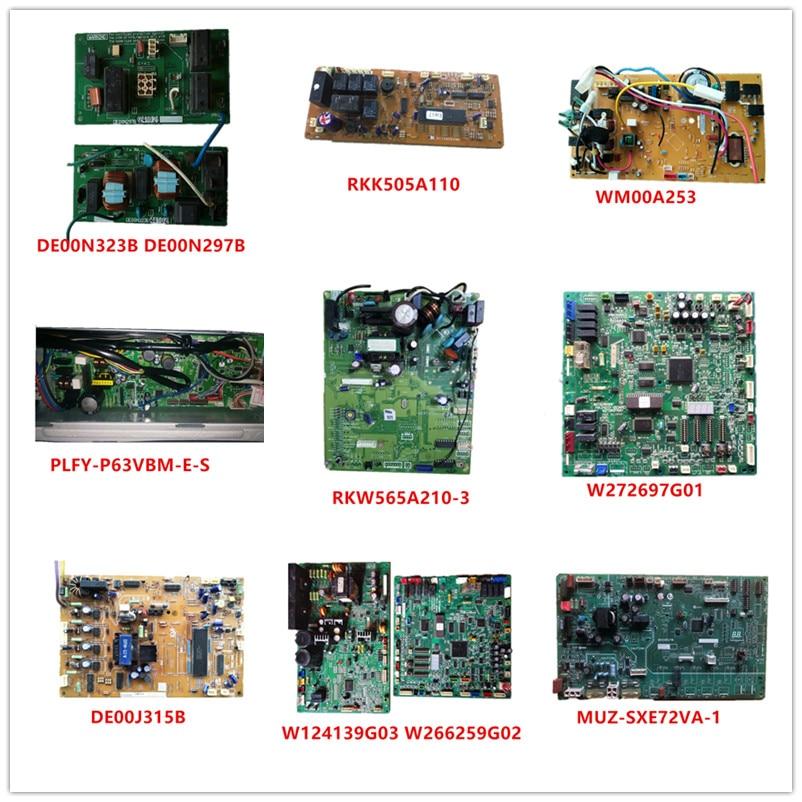 DE00N297B/DE00N323B/RKK505A110/WM00A253/PLFY-P63VBM-E-S/RKW565A210-3/W272697G01/DE00J315B/W124139G03/W266259G02/BH00R478 Used