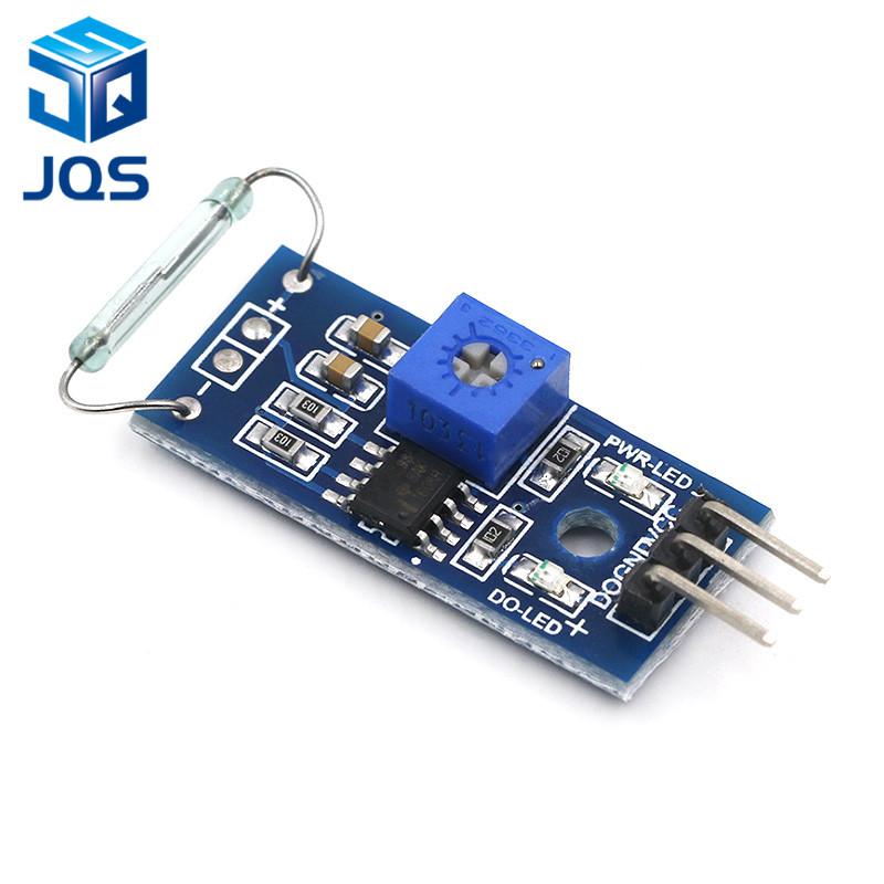 Dry Reed Pipe Sensor Module Magnetron Module Dry Reed Switch Magnetic Control Switch For Arduino