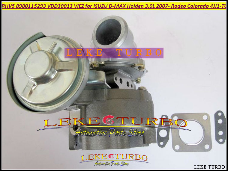 Free Ship RHV5 8980115293 8980115294 8980115295 8980115296 Turbo Turbocharger For HOLDEN Rodeo For ISUZU D-MAX 07-4JJ1-TC 3.0L free ship rhv5 8980115293 vdd30013 viez turbo turbocharger for isuzu d max 3 0l crd for holden rodeo td colorado 4jj1t 4jj1 tc