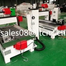 Jinan портативная реклама фрезерный станок с ЧПУ 6090 1.5kw/2.2kw/3kw машина для резки металла древесины