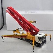 Редкие, коллекционные литые игрушки модель 1:35 масштаб XCMG HB56K бетон 56 м насос грузовик строительные машины для украшения подарка, подарок