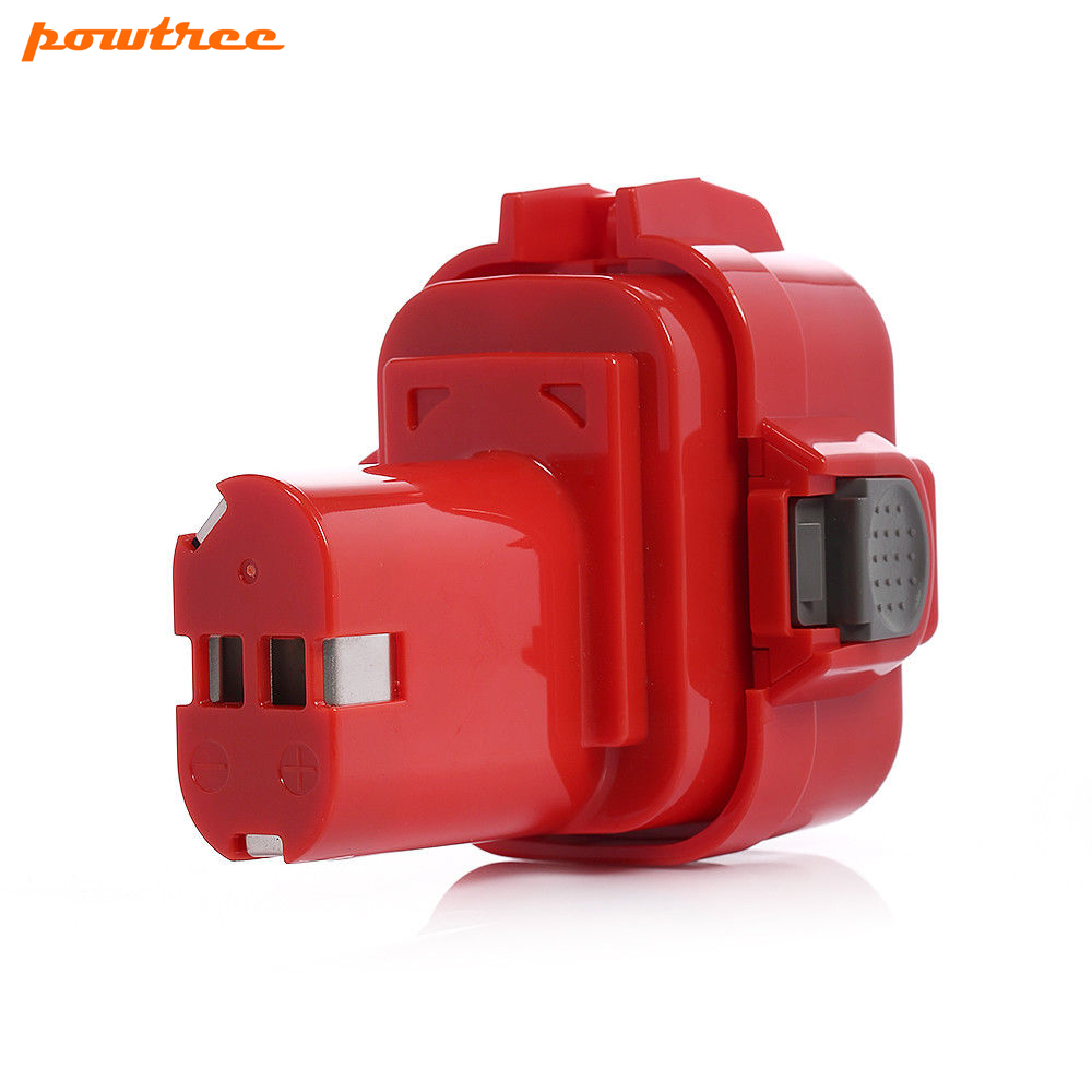 Powtree For Makita 9.6V 2500mAh 9120 192595-8 Power Tool Battery Replacement 9122 9133 9134 9135 9135A 192596-6 192638-6