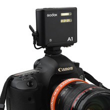 A type Single Contact Hot Shoe Pedestal for Godox A1 Mobile Phone Flash Speedlite Synchronizing Transmitter With Camera