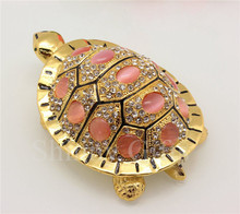 Big Stones Turtle trinket Box desk Craft Turtle gift box metal craft free Shipping