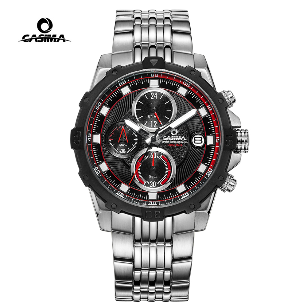 CASIMA Men Military Sport Watch Fashion Charm Luminous Waterproof Diver Quartz Wrist Watch Clock Man 2017 saat Relogio Masculino montre homme casima sport watch men waterproof silicone band week date quartz wrist watch dual time clock saat relogio masculino
