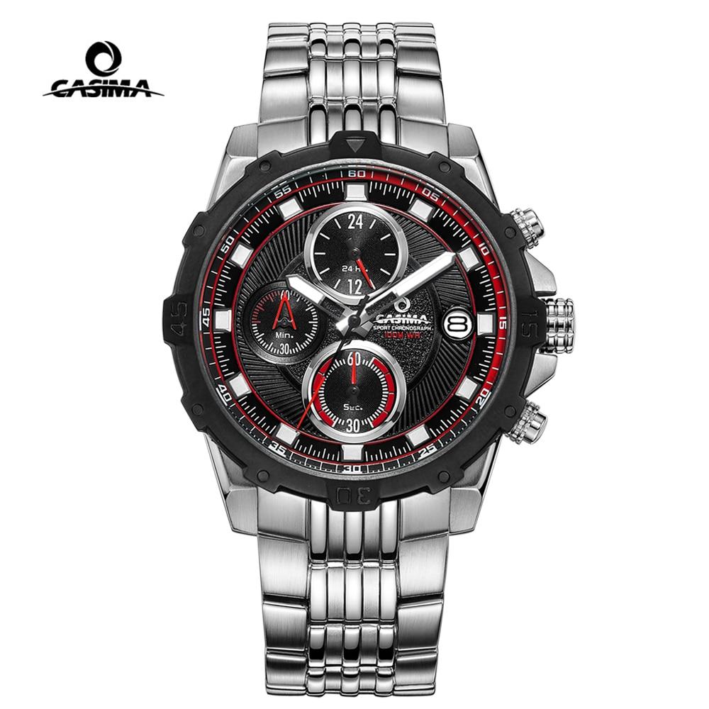 Fashion Luxury Brand Watch Mens Casual Charm Luminous Multi-function Men Sport Quartz Wrist Watch Waterproof 100m Clock CASIMA цена и фото