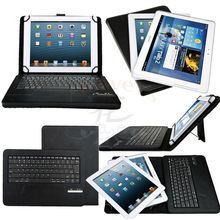 New Universal Detachable Wireless Bluetooth Keyboard Leather Case Cover for 9″ 10″ Tablet PC Leather Case