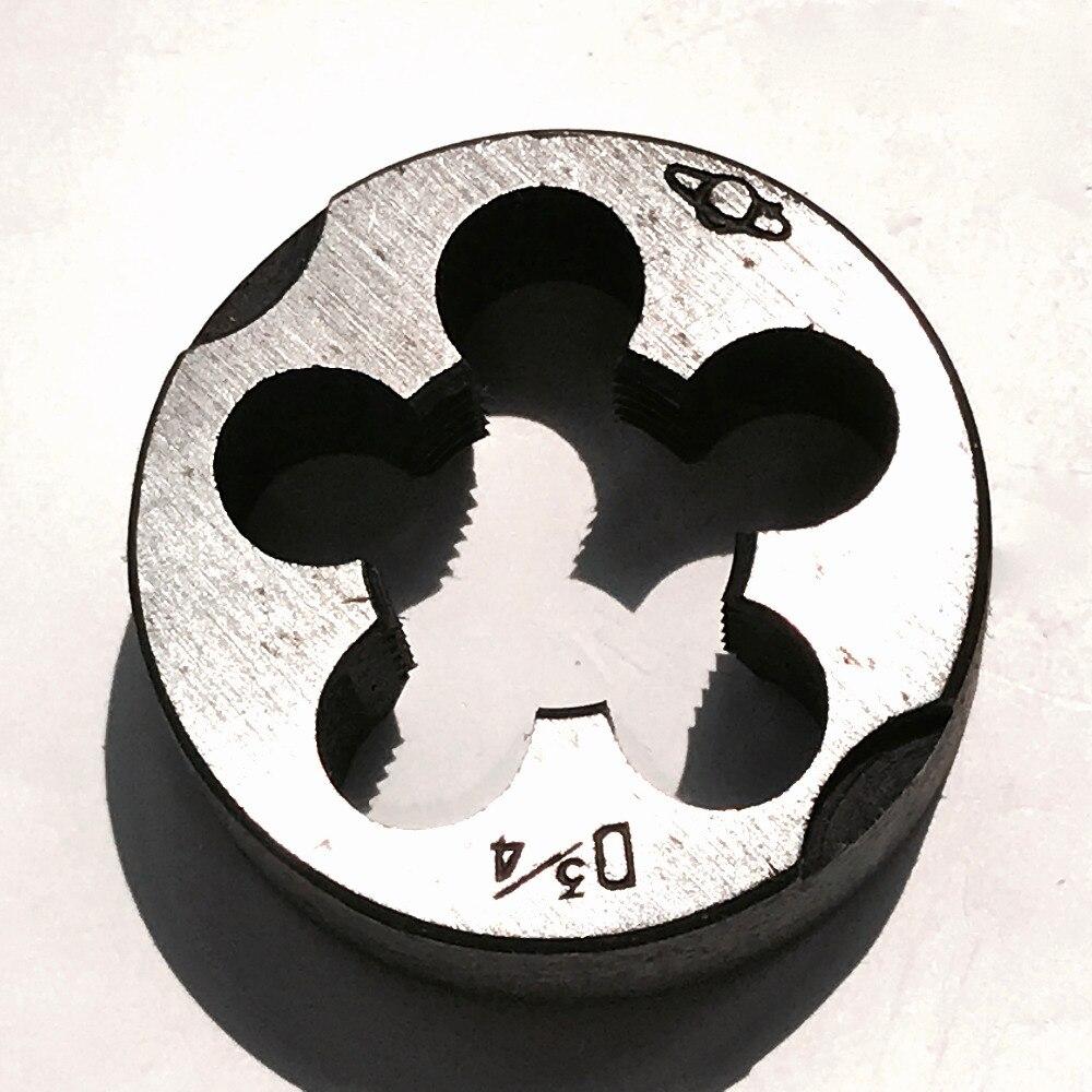 "Купить с кэшбэком Free shipping 1PC Alloy steel made UNC/UN/UNS/UNEF/UNF standard 3/4""-10-12-14-16-18-20-24-27-28-32-36 for manual threading work"