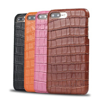 Luxury Crocodile Pattern Embossed Cases For IPhone X 8 8plus 7 7Plus 6 6plus Ultra Slim