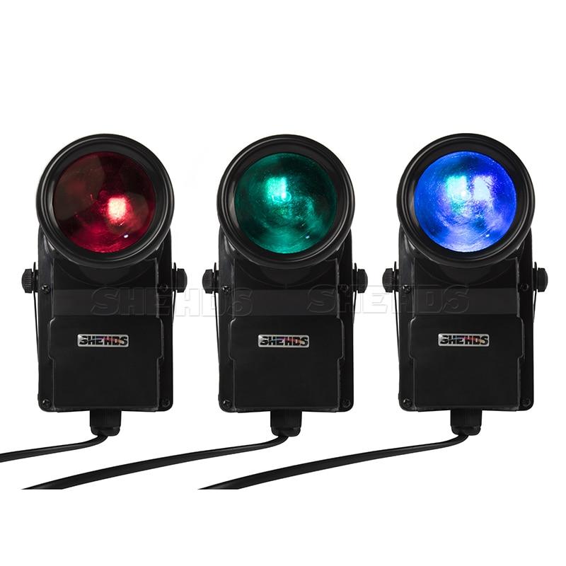 Mini Led 10W Disco Light 4/8 Channels RGBW DMX Par DJ Light Pinspot Beam Spotlight LED Backlight Stage Party KTV Luces Discoteca
