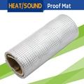 "150CM x 100CM 60"" x 40"" Car Heat Shield Reflective Sound Deadener Insulation Mat Material Aluminum Foil Deadening Noise Control"