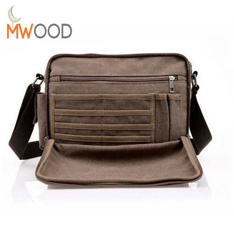 Top Quality Large Capacity Multifunction Canvas Bag Men Vintage Cross Body Shoulder Bag Casual Travel Messenger Bag Wallet Bolso augur men s messenger bag multifunction canvas leather crossbody bag men military army vintage large shoulder bag travel bags