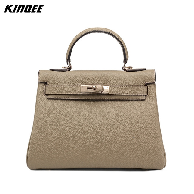 Classic Luxury Handbag Designer Women Genuine Leather Tote Crossbody Bags Vintage Cover Patchwork Soft Paid Lock
