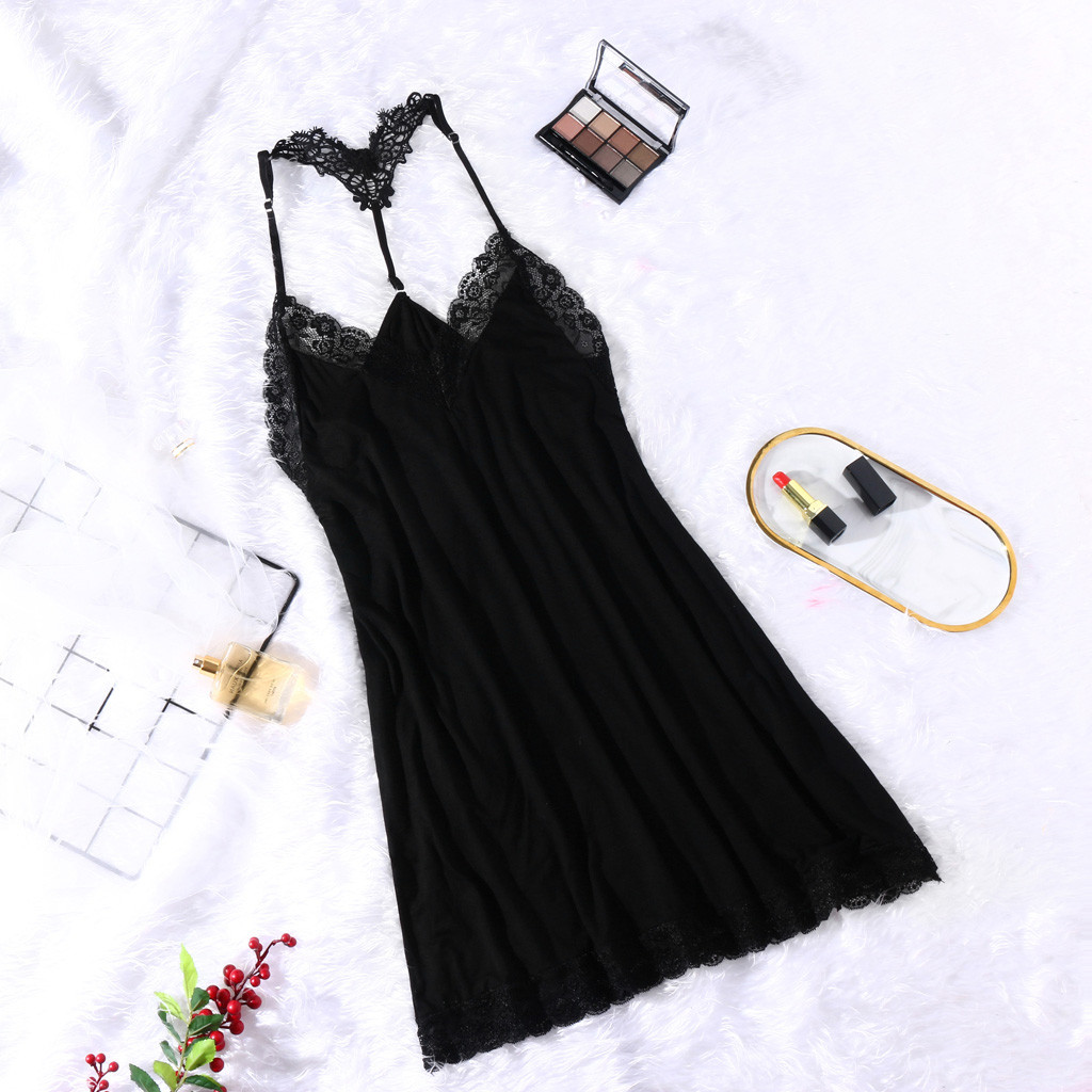 Women Sexy Lingerie Sexy Sleepwear With Camis Lace Hollow Out Fashion Underwear Women's Dresses Shirt Pyjamas Lingerie