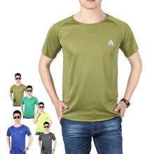 t shirt men 2018 leisure summer O-neck short sleeved cotton stretch AFS JEEP men's black white slim camisetas men tshirt 16797 стоимость