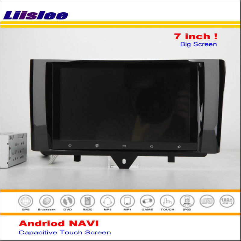Car Android Media Navigation System For Smart Fortwo 2010 2015 Radio Stereo Audio Video Multimedia No
