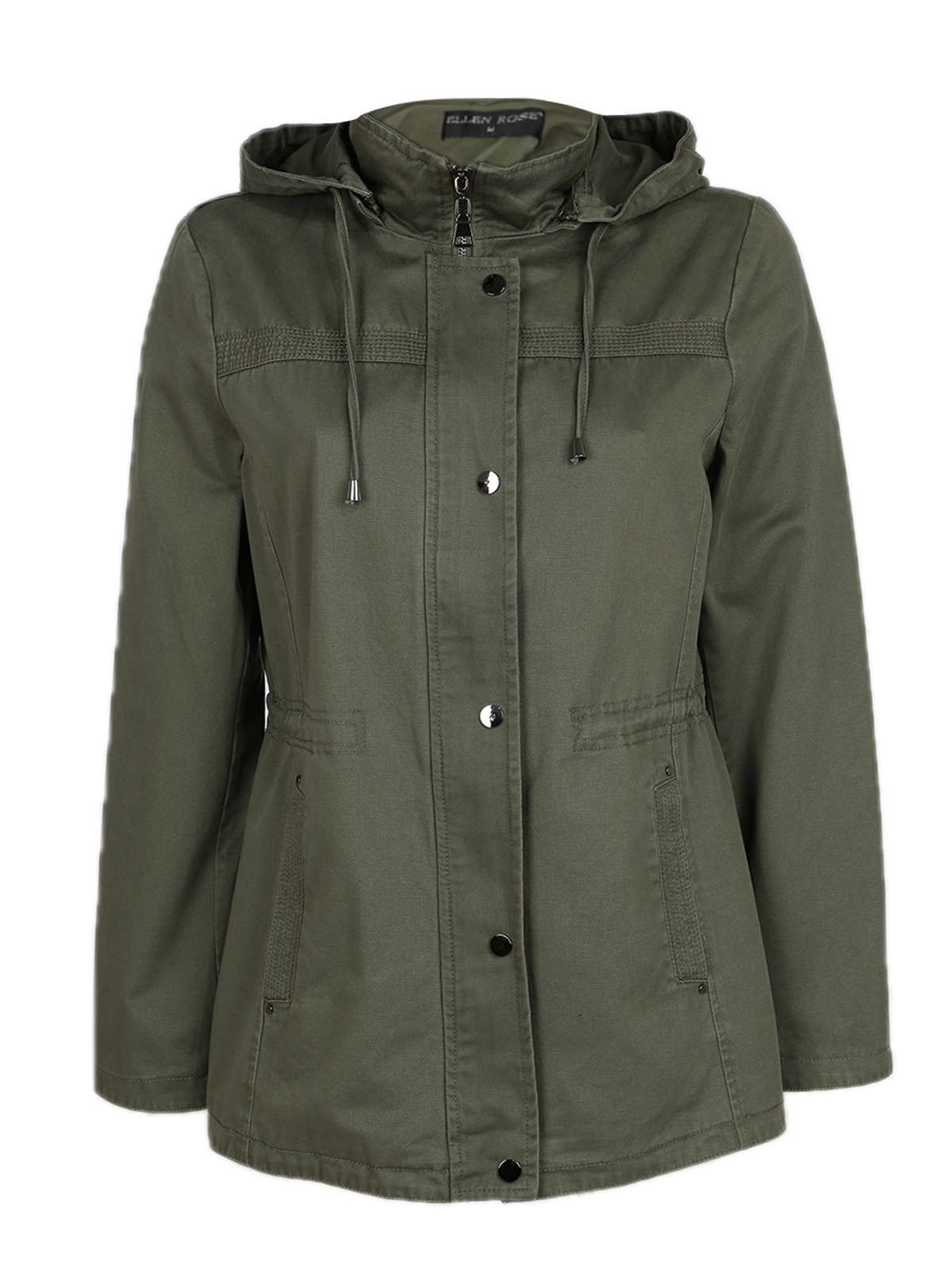 Spring Jacket Hooded-Green