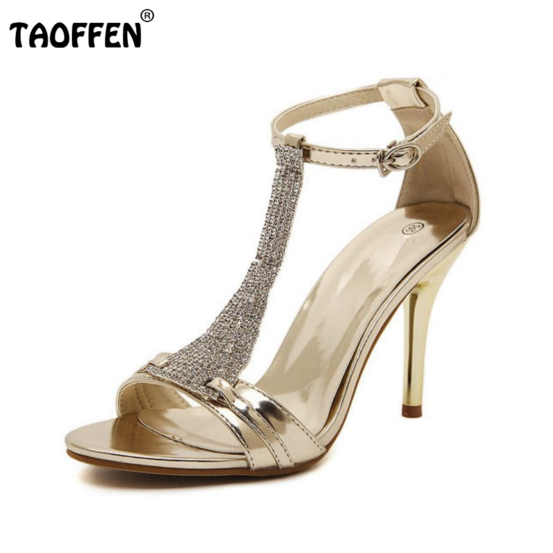 ФОТО women sandal sexy butterfly rhineston high heels ladies designer wedding shoes brand quality female footwear size 34-39 P19201
