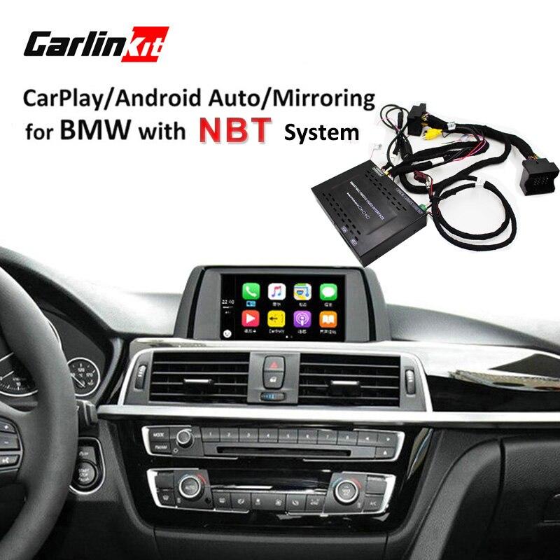 Module d'interface de caméra de recul pour BMW 1/2/3/4/5/7 Series X3 X4 X5 X6 MINI avec système NBT avec miroir Carplay