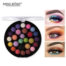 Miss Rose Eye Makeup Palette 27 Colors Matte Eyeshadow Nude Shadow Warm Red Pigment Professional Sleek Cosmetics Kit