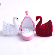 Little Swan Bridal Accessories Upscale Engagement Ring Box Earring Jewelry Storage ring