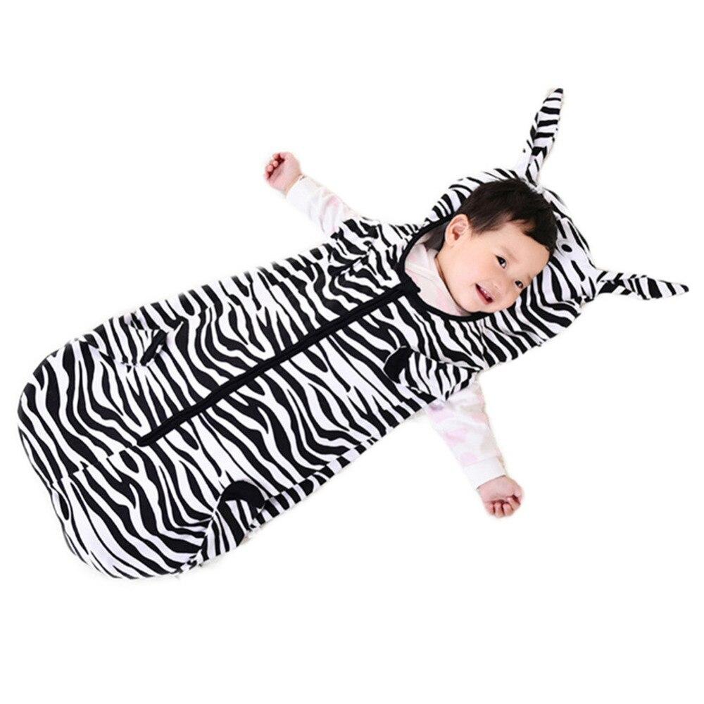 Cosplay Zebra Schlaf Nest Baby Schlafsack Kleinkind Sommer Quilt Hause Textilien Zebra Cosplay Jungen Leichte Schlafsack 1-3y