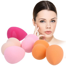 6Pcs Makeup Foundation Sponge Blending Face Powder Make Up Puff Esponja Maquiagem Cosmetic Sponge Face Care