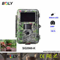 25MP night vision Boly 1080P hunting cameras photo trap invisible IR LED 940nm game cameras 100ft detection range scout wild cam