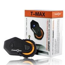 2 шт Bluetooth мотоциклетный шлем Интерком BT Велоспорт наушники наборы t-max
