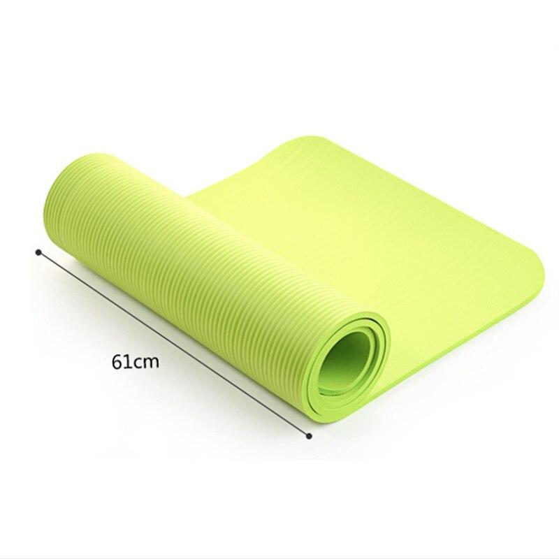 4 Colori Esercizio Stuoia di Yoga Pad di Spessore antiscivolo Pieghevole Palestra Tappeto di Fitness Pilates Forniture antiscivolo Floor Stuoia del gioco