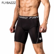 Mens Professional Gym Fitness Shorts  Male Running Sports Training Wicking Quick-drying High Elastic Compression Tight