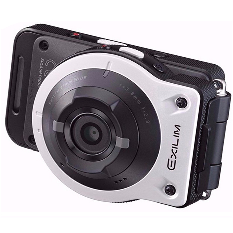 Original Casio EX FR10 2 0 LCD 14MP Separable Action Camera 21mm Super Wide angle F2