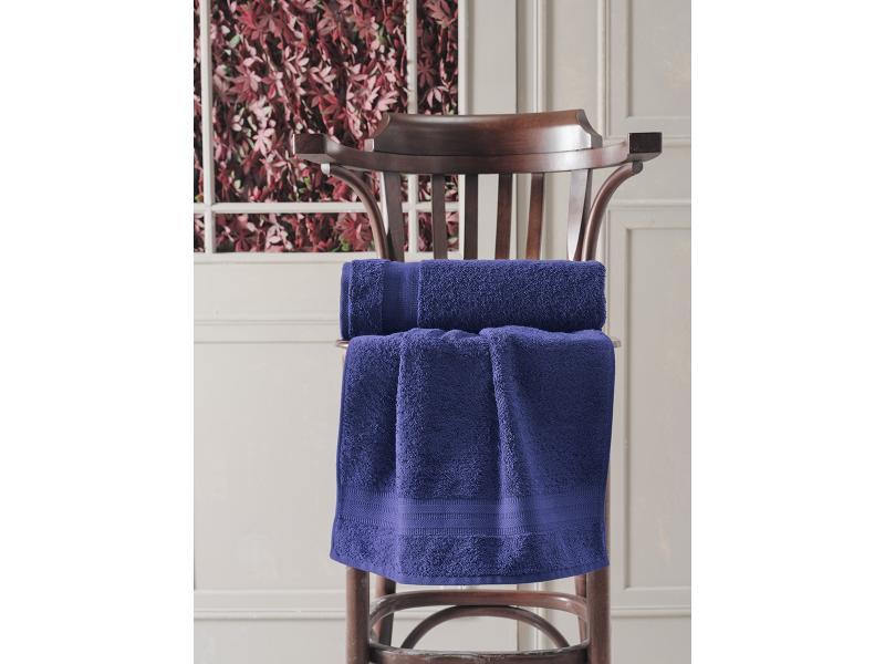 Towel bath KARNA, DESTAN, 70*140 cm, Blue towel bath santalino with рождением доченьки 70 140 cm