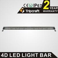 TRIPCRAFT 300W Led Work Light Bar 4D 50inch 6000k Car Driving Lamp Offroad 4x4 Truck ATV