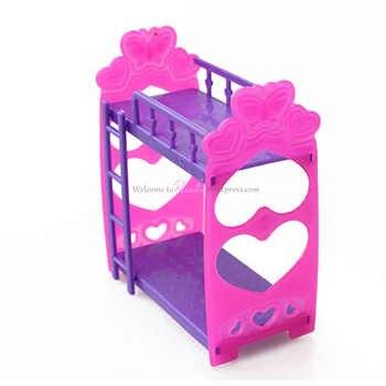 Rosana Mini Mobili per Bambole Letto Matrimoniale per Barbie Sorella