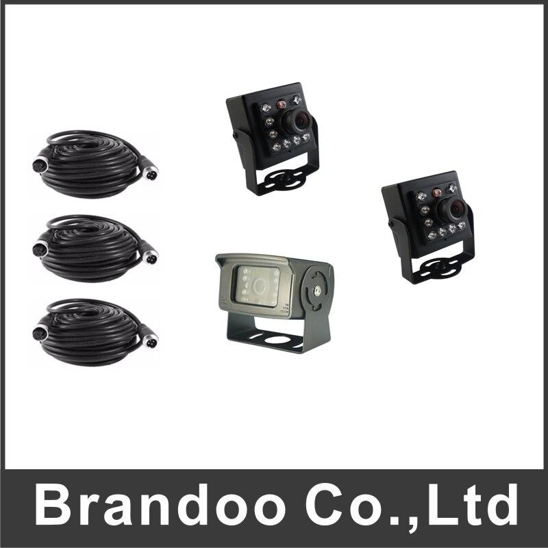 2.0MP AHD камеры автомобиля с видео кабель посылка продажи для России