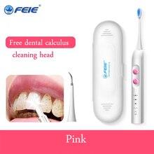 מברשת שיניים חשמליות סוניק נטענת למעלה איכות שיניים Scaler מברשת שיניים ראש להחלפה הלבנת בריא הטוב ביותר מתנה! S 520