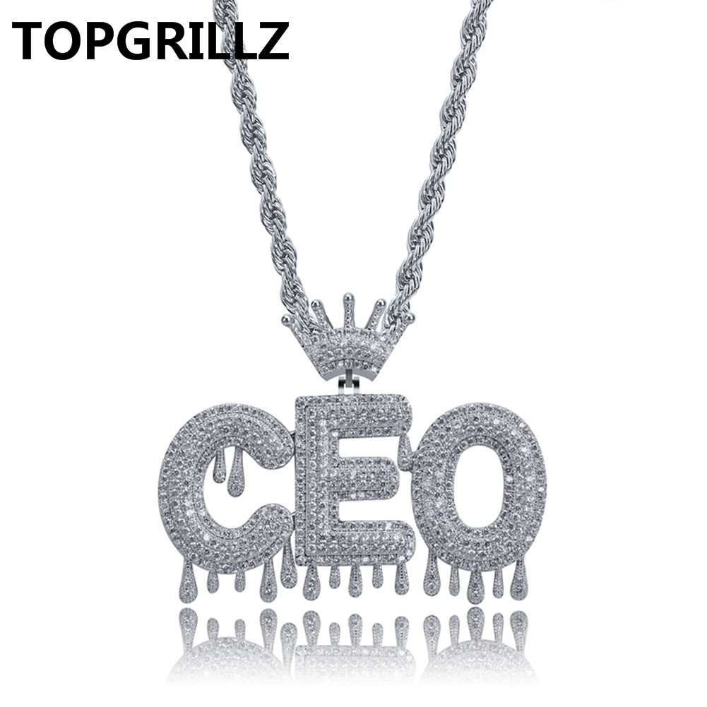 Custom Name Bubble Letters Chain Pendants Necklaces Men's Charms Iced Out CZ Hip Hop Jewelry Gifts With Gold Silver Tennis Chain custom name bubble letters chain pendants necklaces men s zircon hip hop jewelry with 4mm gold silver tennis chain