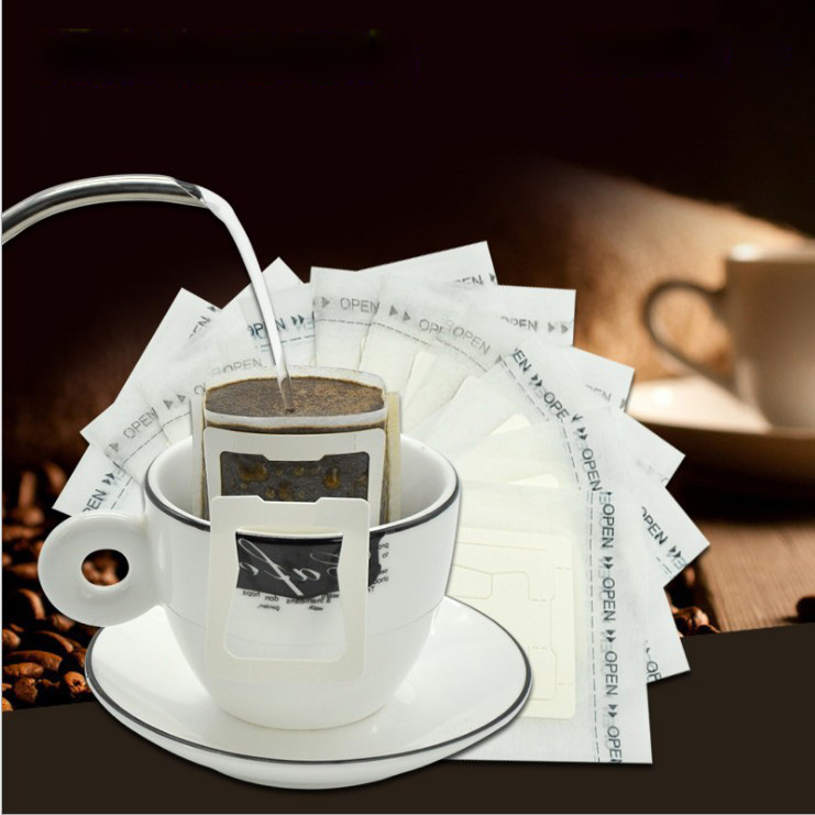 Us 7 8 50pcs Bag Portable Drip Coffee Cup Filter Bags Tea Hanging Filters Tool Home Office Useful In