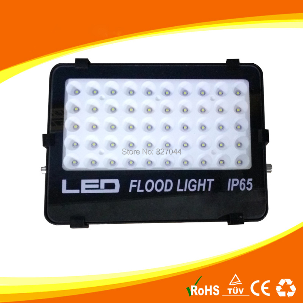 dhl free 2pcs 85-265v IP65 Waterproof Flood Lights 50w Led Flood light Outdoor Light Refletor Lamp 110V 220V Garden Lighting ip65 waterproof floodlights 200w led flood light outdoor light refletor lamp 110v 220v garden lighting