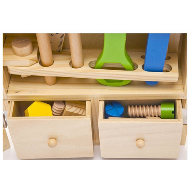 Baby-wooden-toy-kids-handle-tool-box-games-Learning-Educational-Wooden-Tool-Toy-Screw-assembly-garden