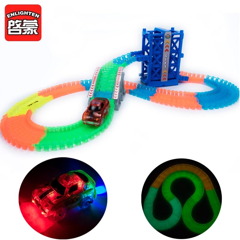 სასწაულებრივი glowing Race - სათამაშო მანქანები