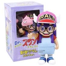 Аниме мультяшная экшн-фигурка из ПВХ Dr.Slump Arale, игрушечная кукла, рождественский подарок