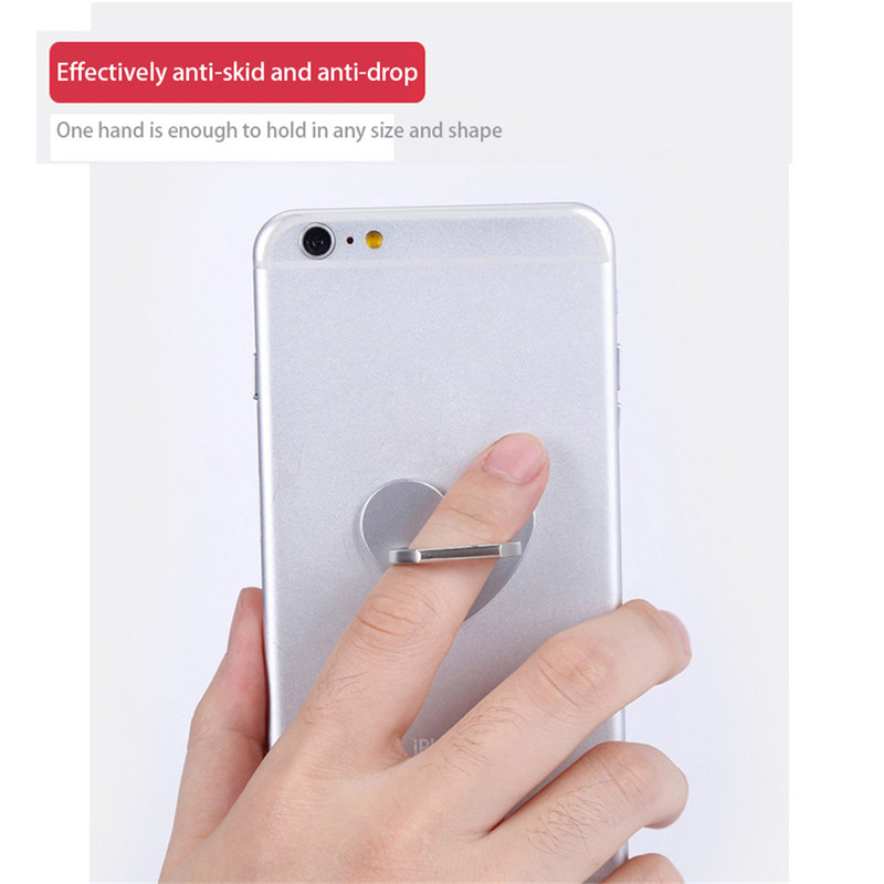 360 Degree Rotatable Phone Holder Round Antidrop Mobile Phone Bracket for Tablet PC for IOS/Android phones Portable Electronics