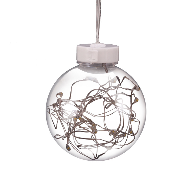 Led Ball Lighting String Cutains Lights Copper Wire Lamp Holiday
