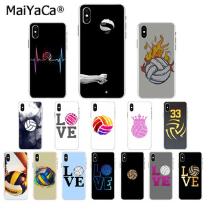 MaiYaCa Volleyball Sports Colorful Cute Phone Case for iphone SE 2020 11 pro 8 7 66S Plus 5S SE XR X XS MAX Coque Shell(China)