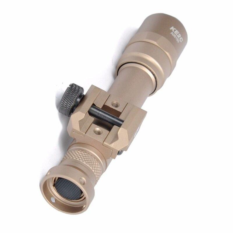 lanterna rifle de caca luz arma paintball 05