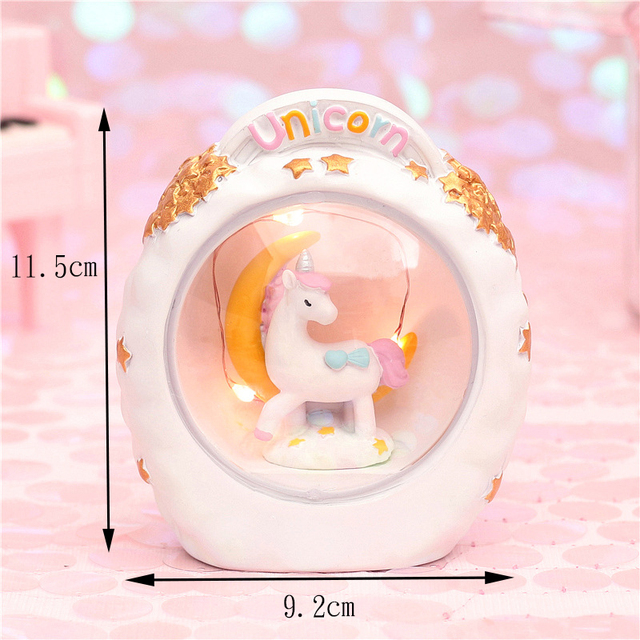 LED Unicorn Bedroom Lamp