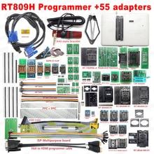 مبرمج فلاش عالمي أصلي 100% طراز RT809H EMMC Nand + 55 محول مع محولات BGA169 BGA48 BGA63 BGA64